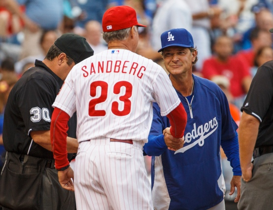 Don Mattingly and Ryne Sandberg
