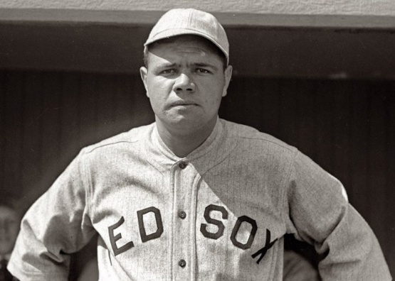 Babe Ruth in 1918